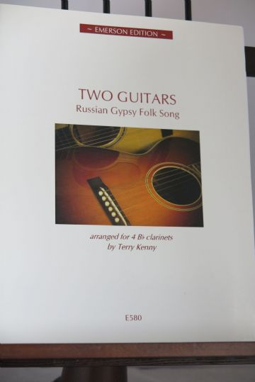 Two Guitars - Russian Gypsy Folk Song arr Kenny T [INCOMPLETE]
